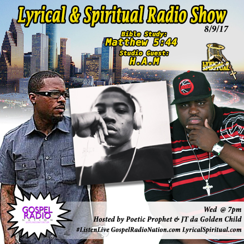 Lyrical & Spiritual Radio Show 66 with H.A.M and Urgency