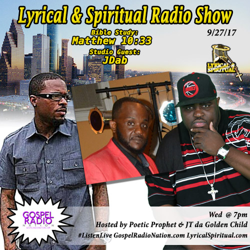 Lyrical & Spiritual Radio Show 71 with JDab