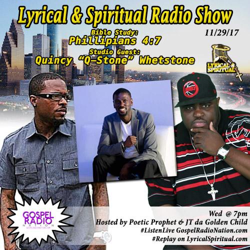 Lyrical & Spiritual Radio Show 79 with Q Stone