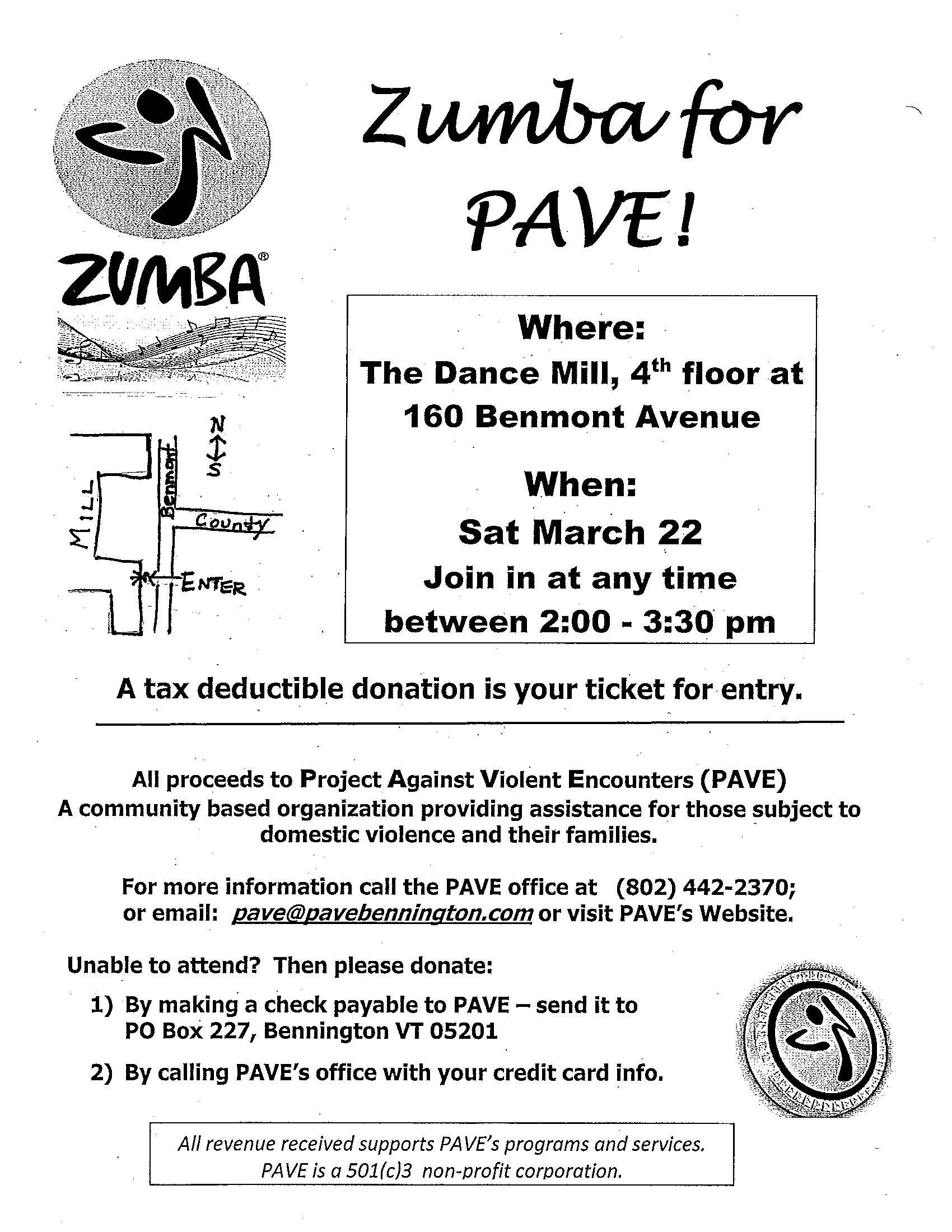 Zumba event flyer2