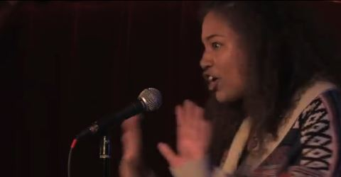 Poetry Slam- 1 woman's response to obscene question