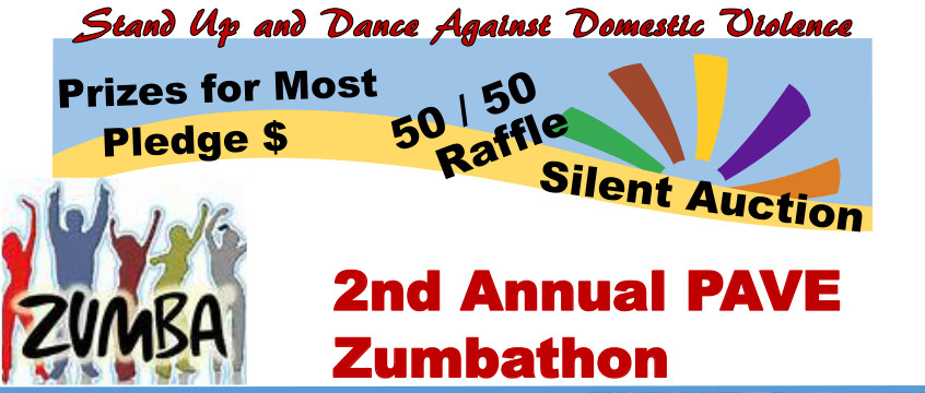 2nd Annual PAVE Zumbathon