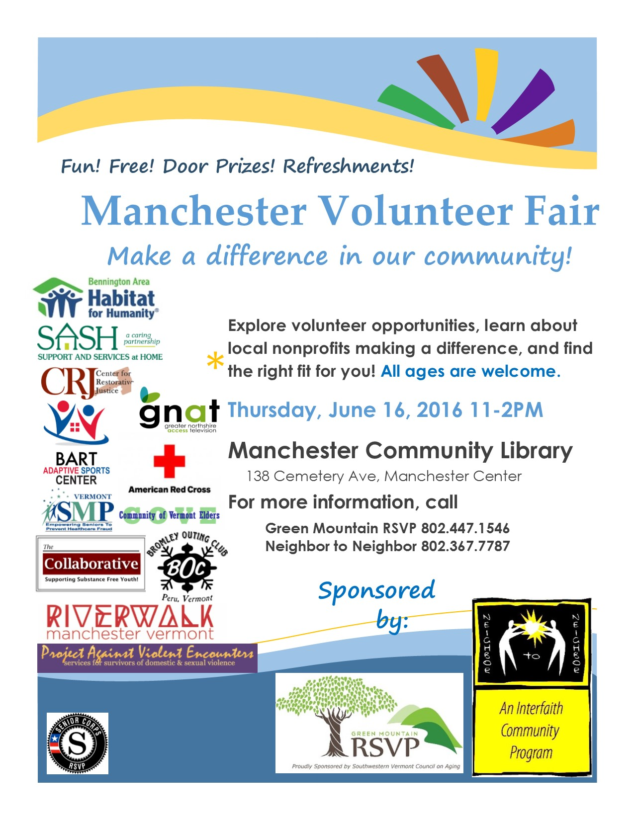 Volunteer Fair In Manchester