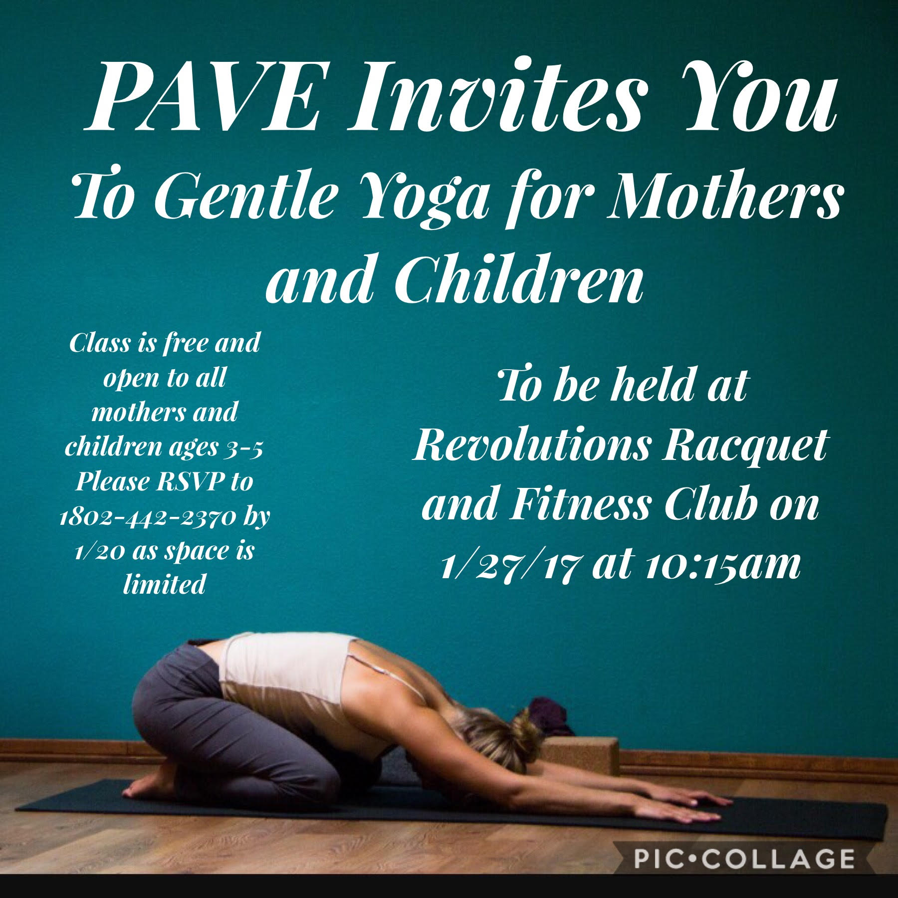 Gentle Yoga For Mothers and Children!