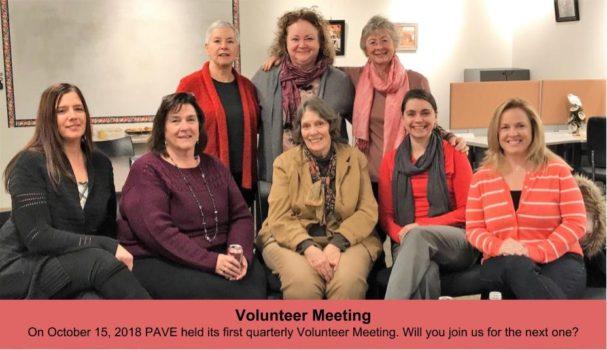 Volunteer Meeting