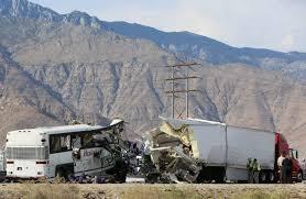 Palm Springs Bus Collision