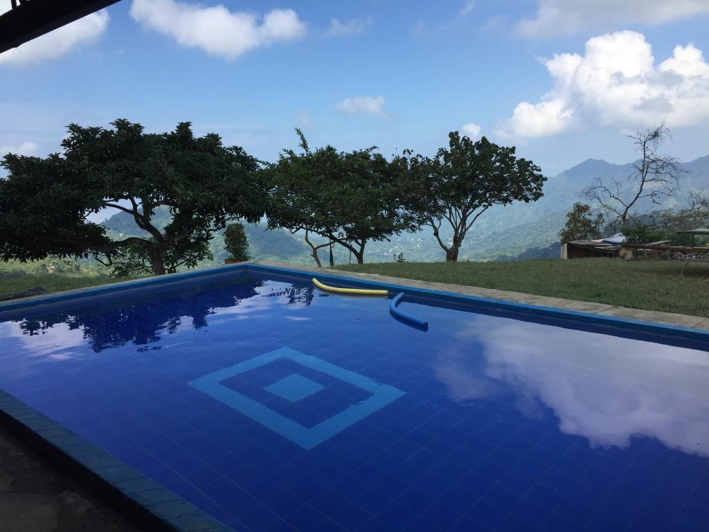 Casa Elemento hostel in Minca, Colombia has a great pool