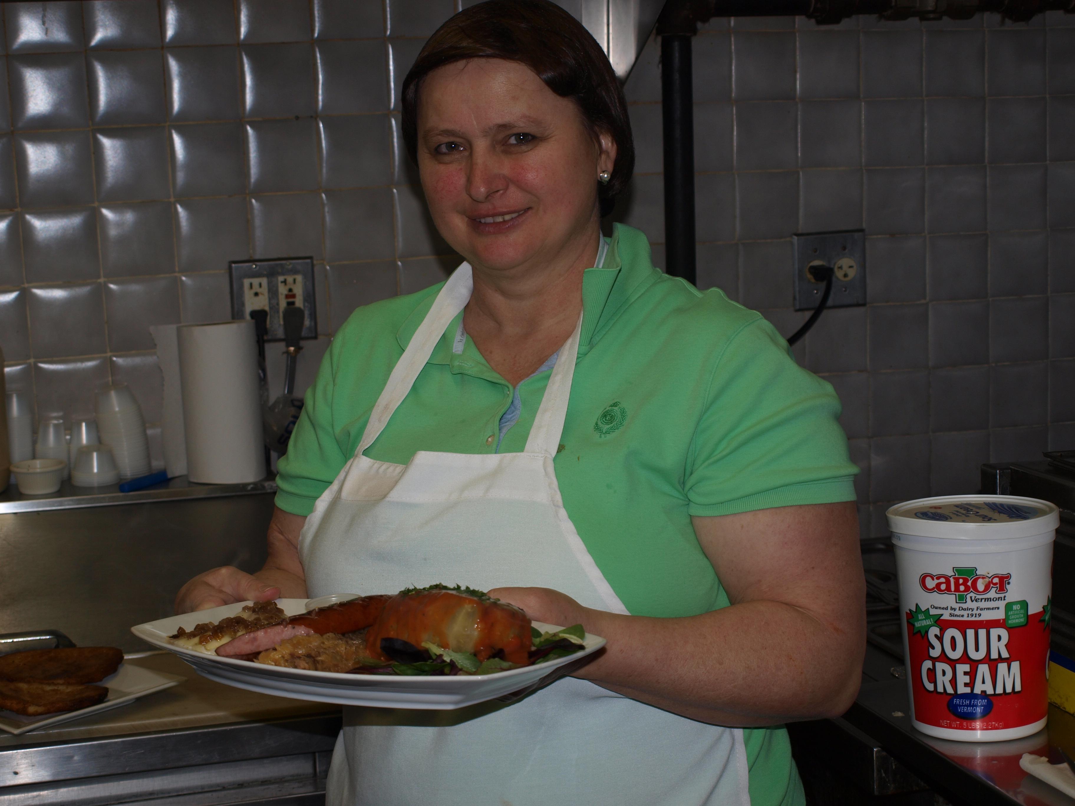 chef at cafe polonia, boston