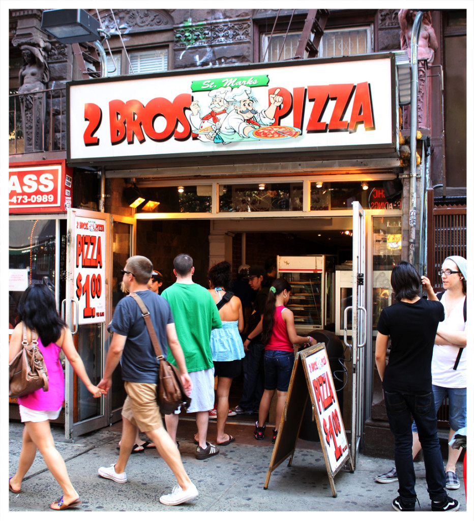2 Bros Pizza, Manhattan