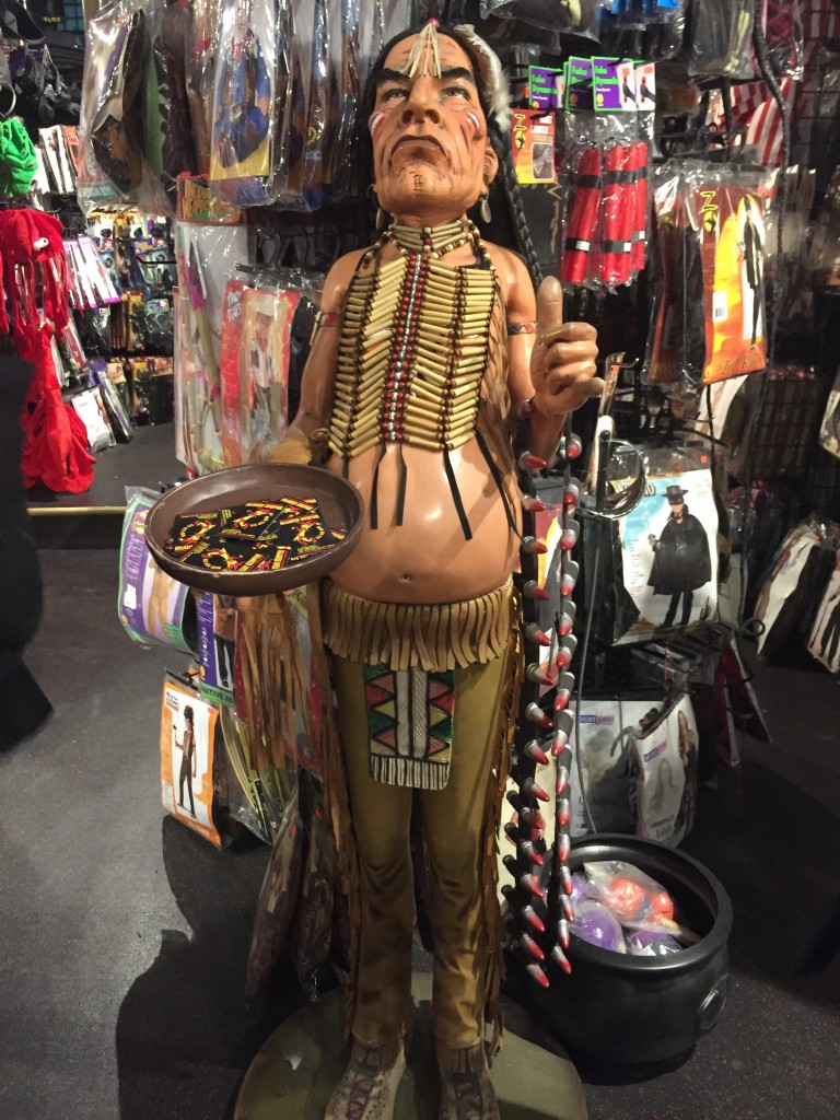 Native American key table, New York Costumes, East Village, Manhattan