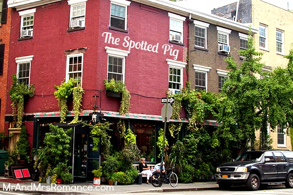 The Spotted Pig facade, New York City, courtesy of Mr. and Mrs. Romance