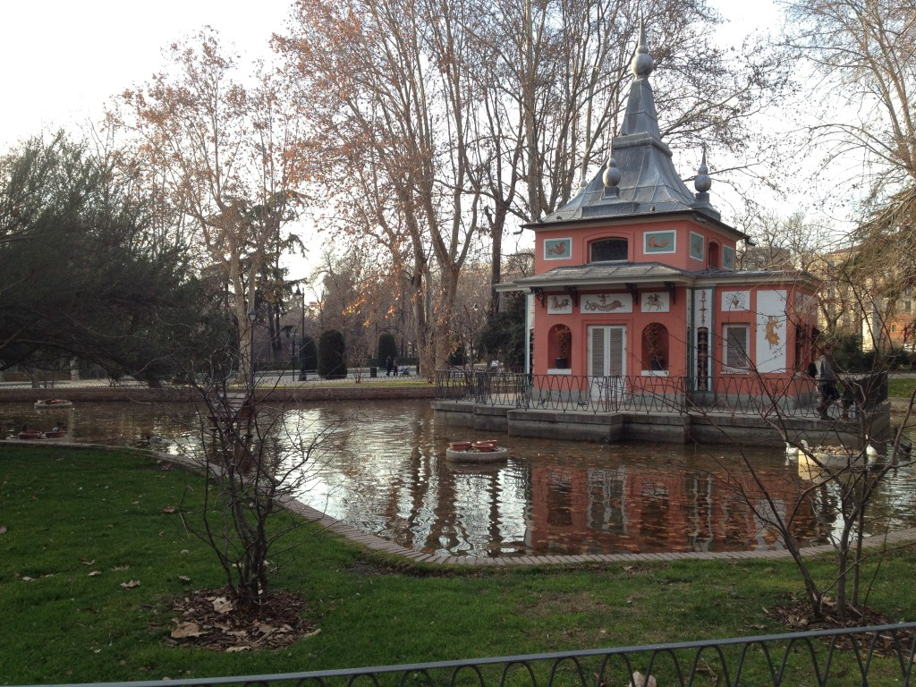 findings in el Parque del Buen Retiro, Madrid, Spain