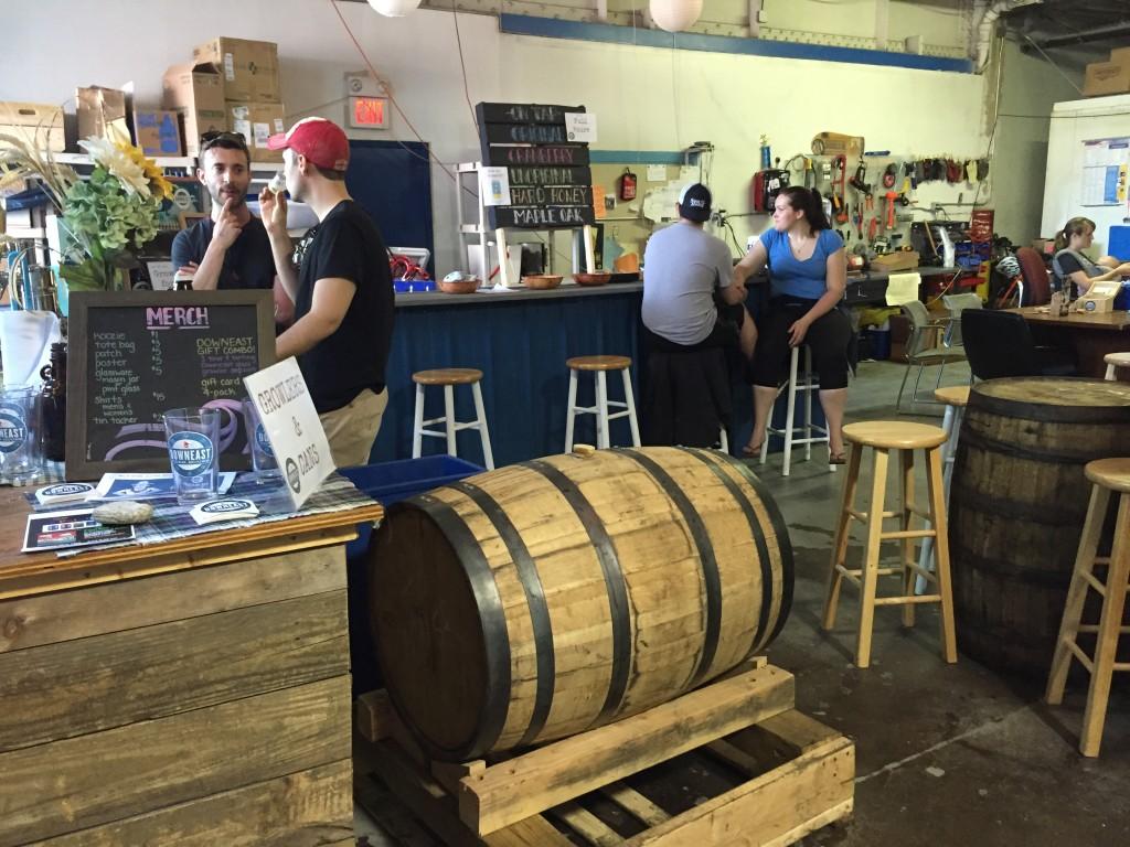 Downeast Cidery bar, Charlestown, MA