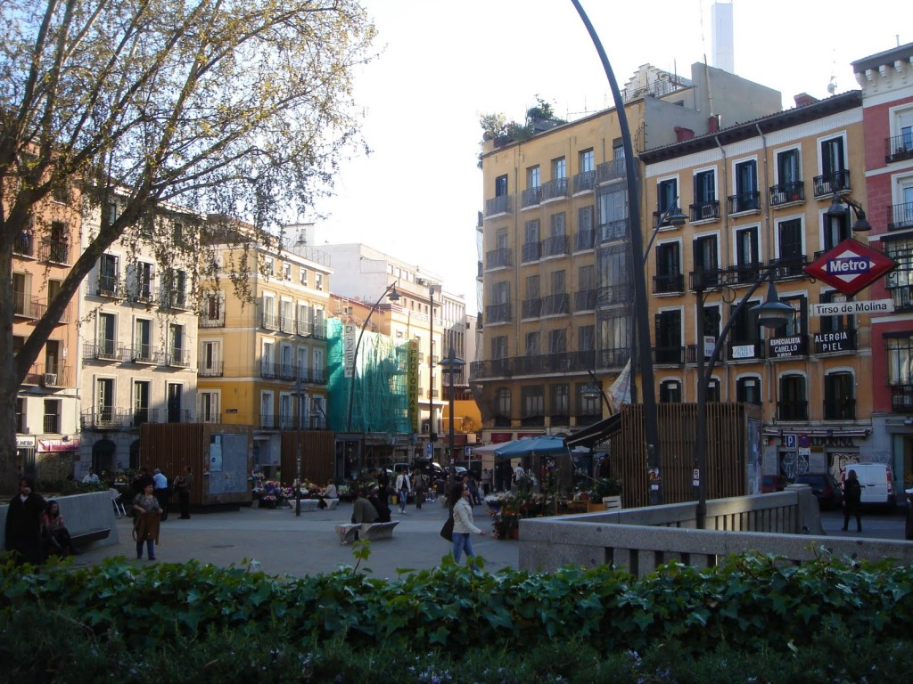 Plaza de Tirso de Molina, Madrid, Spain