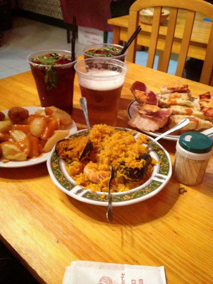 tapas at El Tigre, Madrid, Spain