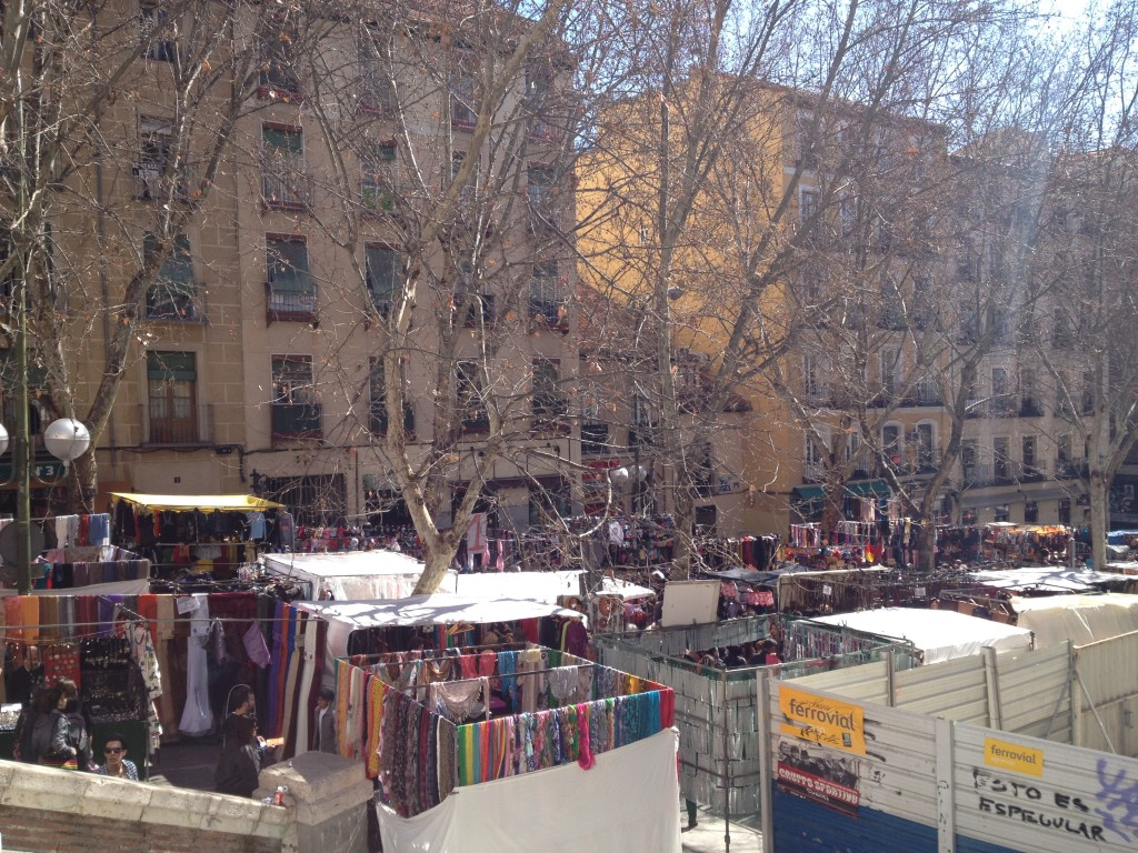 The never ending flea market in Madrid, el Rastro