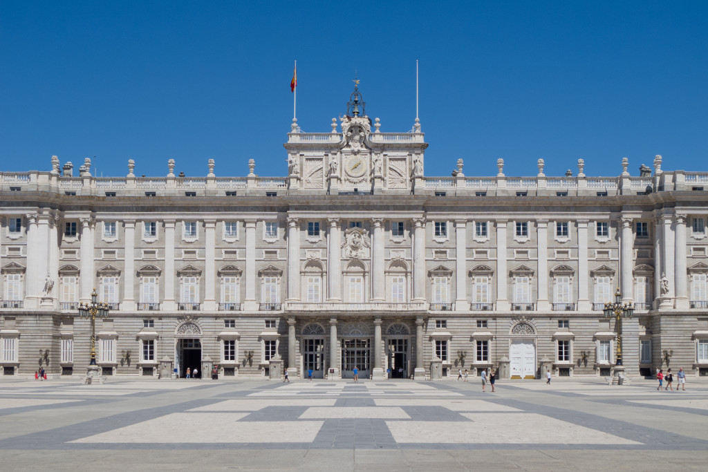 The Royal Palace of Madrid is one of the finest palaces in Europe.