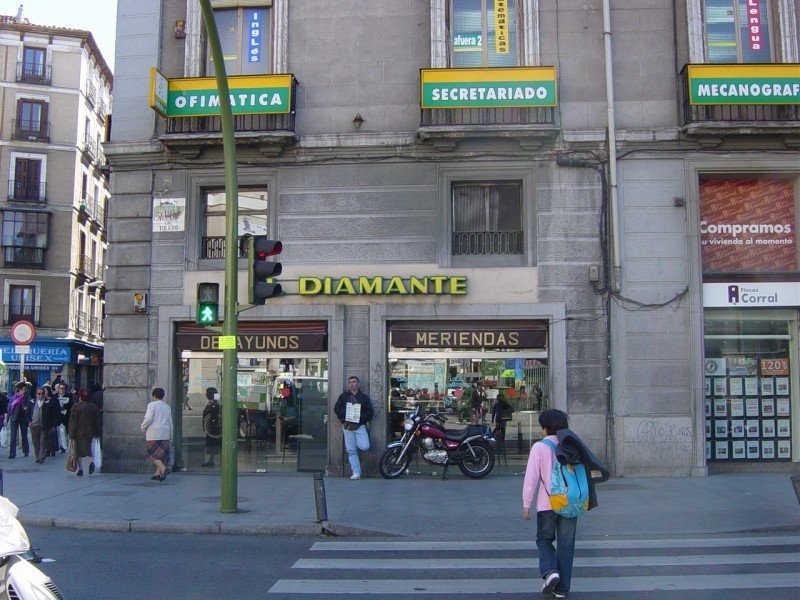 El Diamante, great stop for tapas in Madrid.