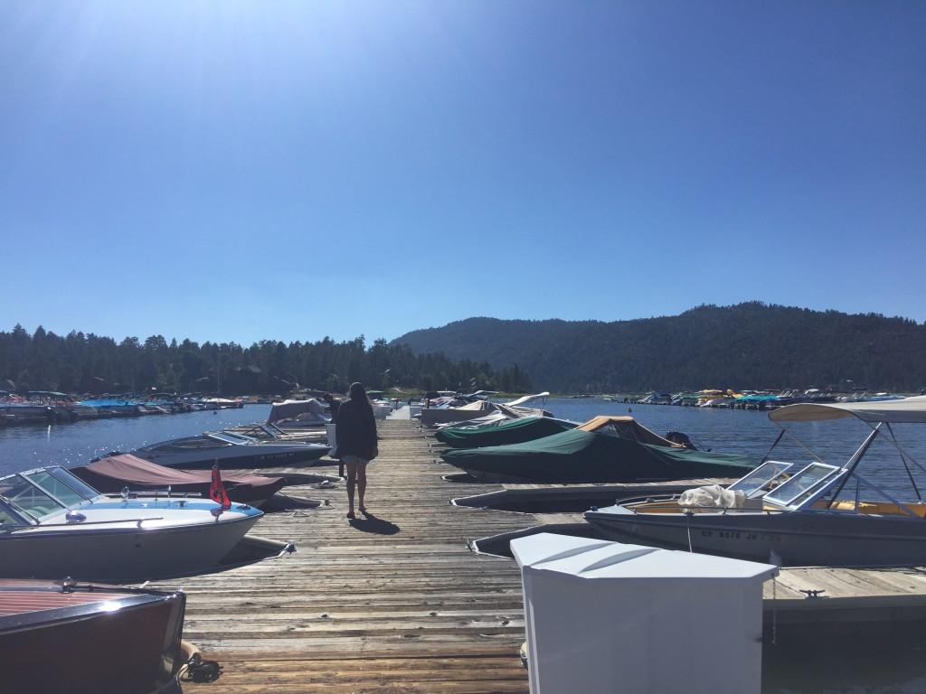 Holloway's Marina, Big Bear Lake, California