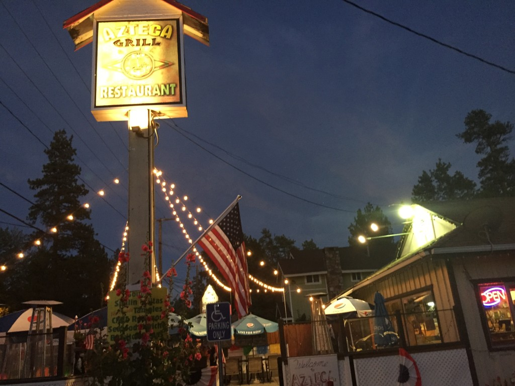 Azteca Grill, Big Bear Lake, California