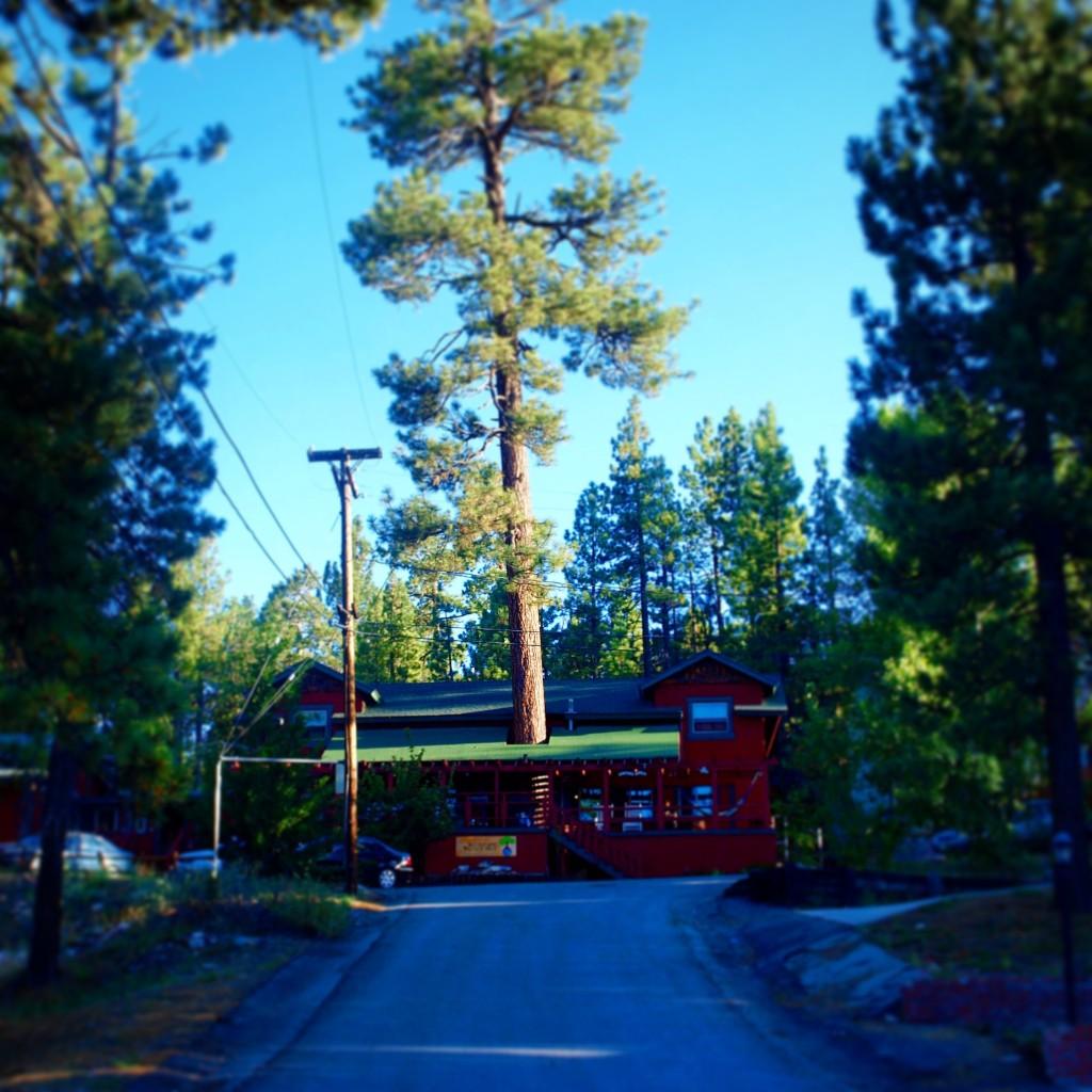 ITH Big Bear Mountain Adventure Lodge facade, Big Bear Lake, California
