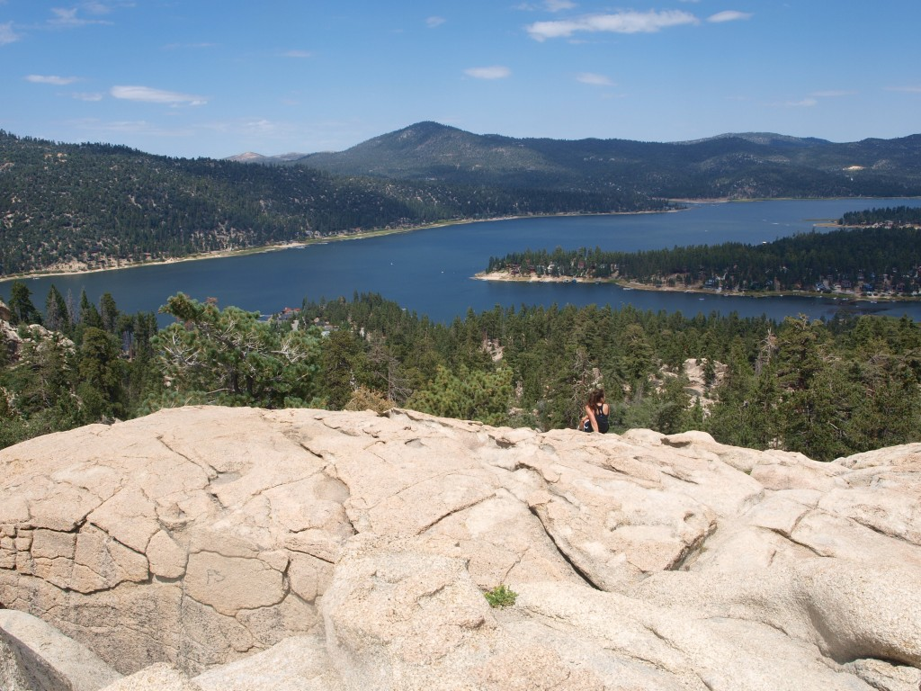 Big Bear Lake, Castle Rock Trail, California