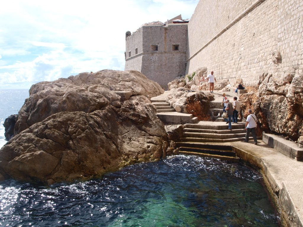 Hole in the wall Dubrovnik, Croatia