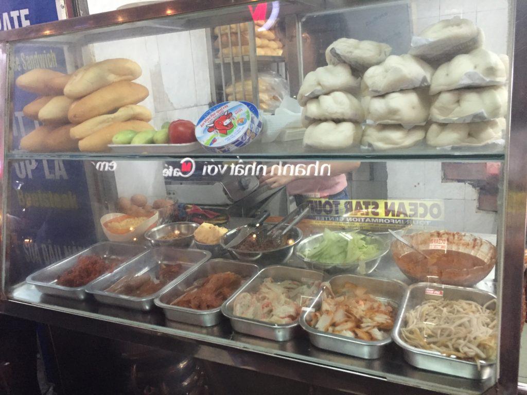 Bahn Mi restaurant, Hanoi, Vietnam