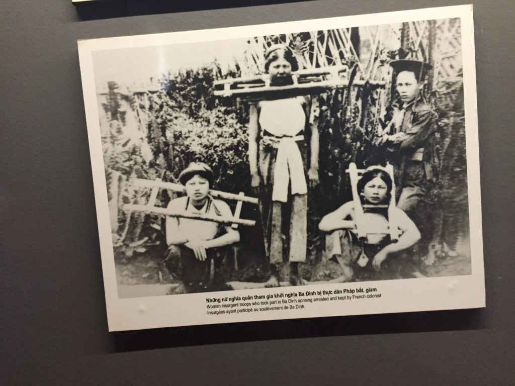 Photo of women prisoners of Hoa Lo Prison, Hanoi, Vietnam