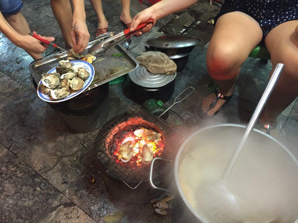 Street Oysters, Hanoi, Vietnam