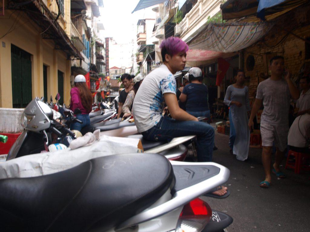 Locals, Hanoi, Vietnam