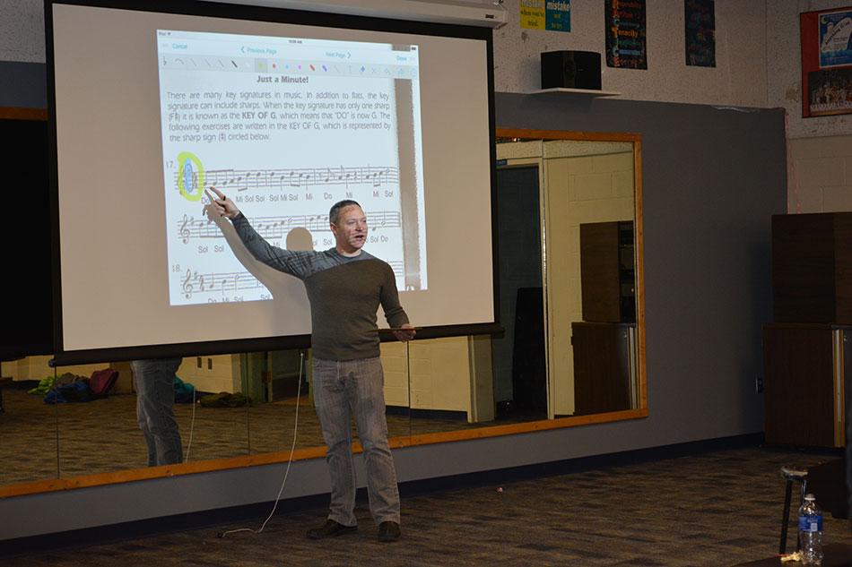 Andrew Grega, 2015 Teacher of the Year