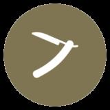 icon representing straight-razor