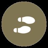 icon representing shoeshines