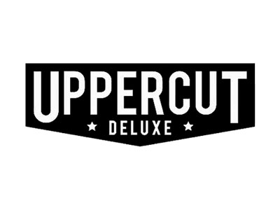 Uppercut Deluxe Brand Logo serving as a button link to their website