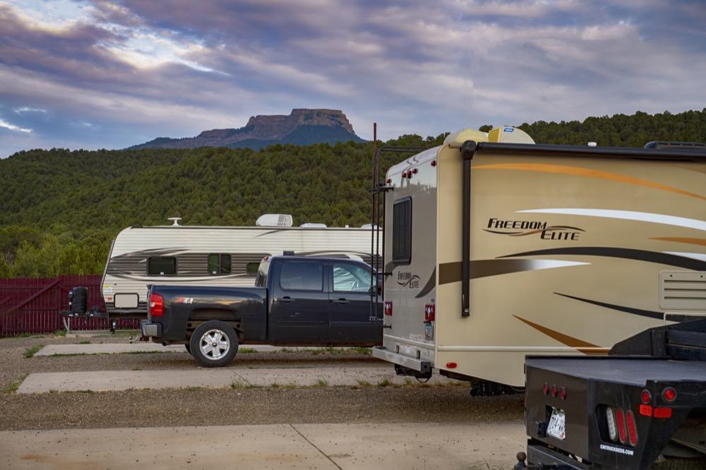 RV Park Camping Trinidad Colorado