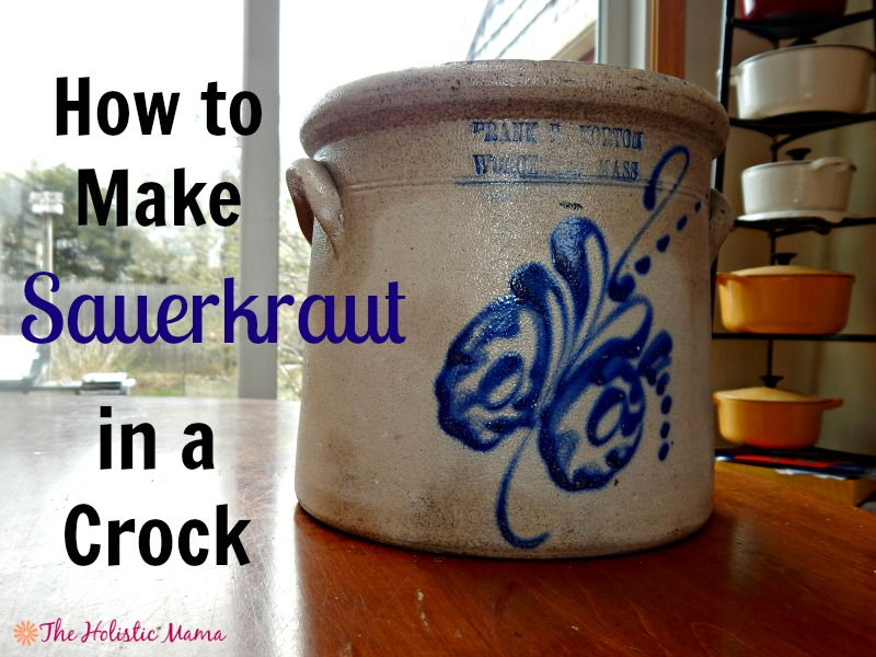 how to make sauerkraut in a crock