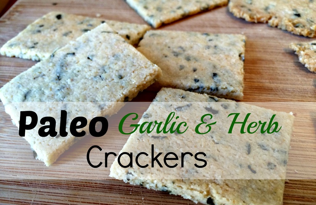 garlic herb cracker