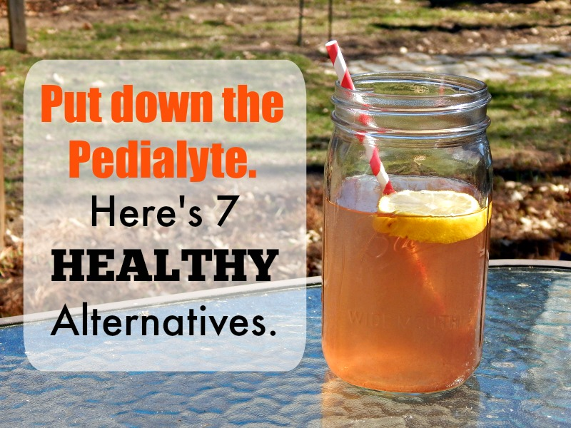 put down the pedialyte