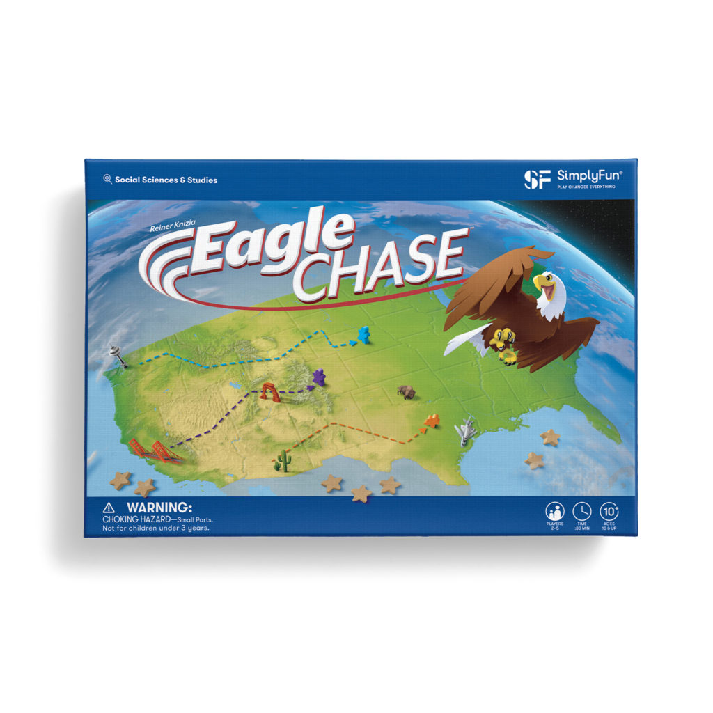 Eagle Chase Geography Game by SimplyFun