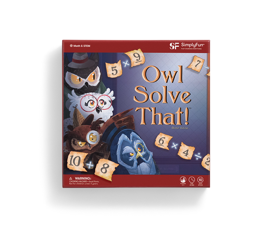 Owl Solve That! Top 10 Games of 2019 by SimplyFun