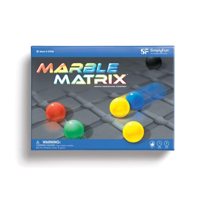 Marble Matrix Top 10 Games of 2019 by SimplyFun
