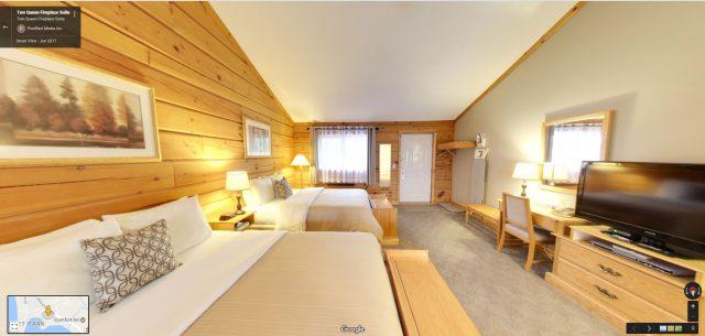 2 Queen Fireplace Suite