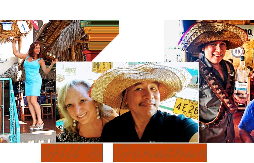 Jill and Jonathan Roldan, Tailhunter - La Paz, Baja Sur - MEXICO