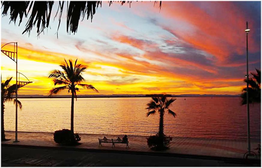 Located on the Malecon in La Paz, Baja Sur