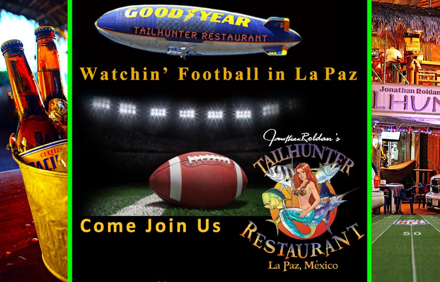 Watch Sports in La Paz at the Talhunter Restaurant located on the Malecon