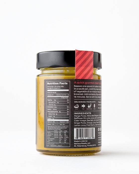 Mango & Aji Amarillo Cooking Sauce