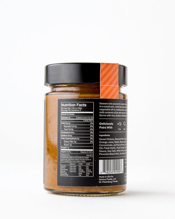 Blood Orange & Aji Panca Cooking Sauce