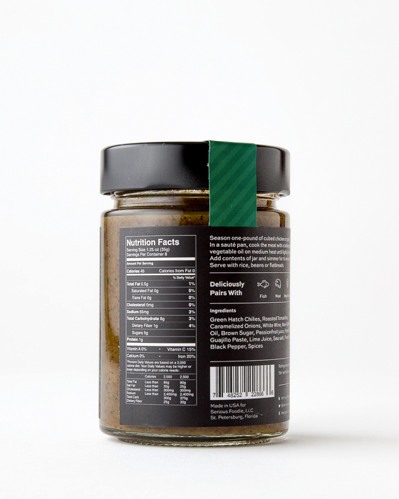 Roasted Hatch Chile Cooking Sauce