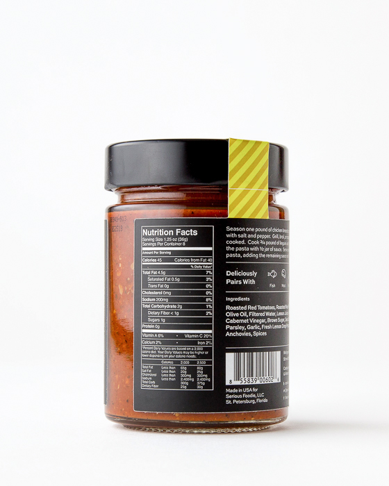 Romesco Finishing Sauce